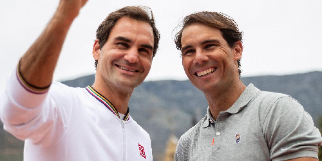 L'actu tennis (mais pas que) de la semaine : Nadal, Federer et un golden retriever records