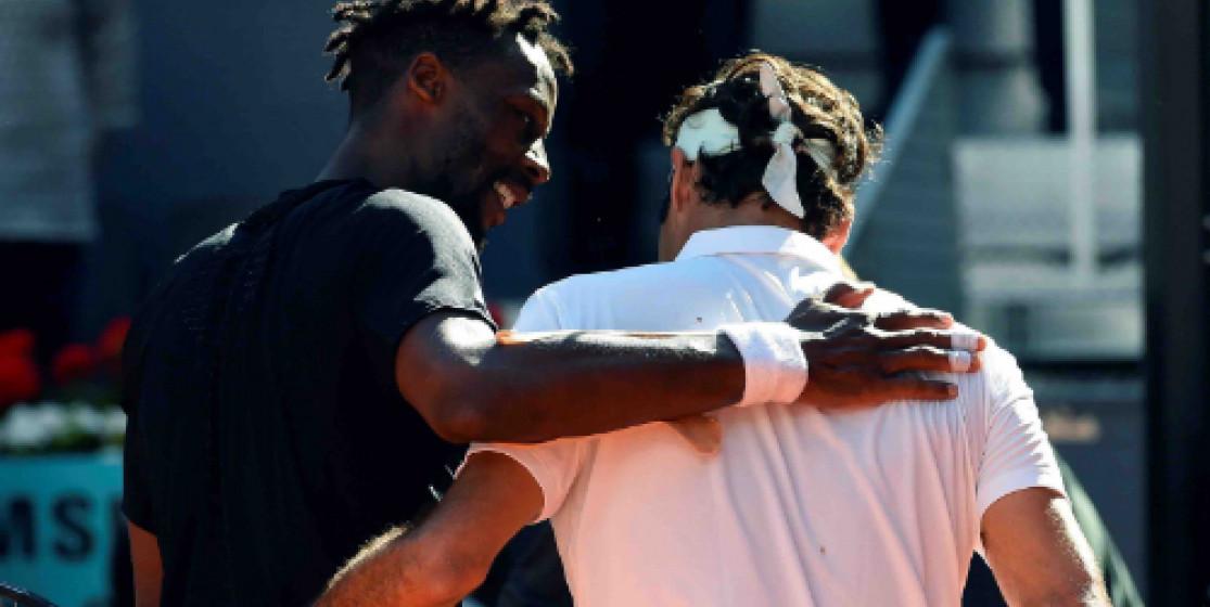 Federer, Monfils, ça va pas mal